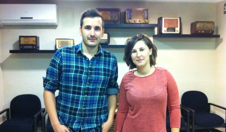 Víctor Nieto y María Espín, portavoces del CJA