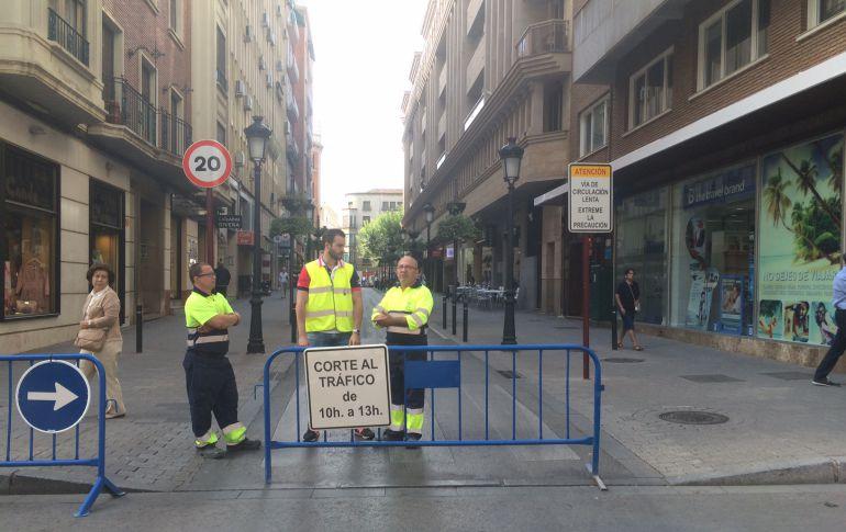 La calle del Rosario será la única peatonal, según el Ayuntamiento