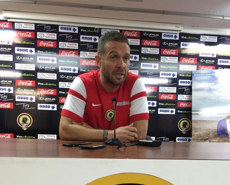 Luis García Tevenet, entrenador del Hércules CF