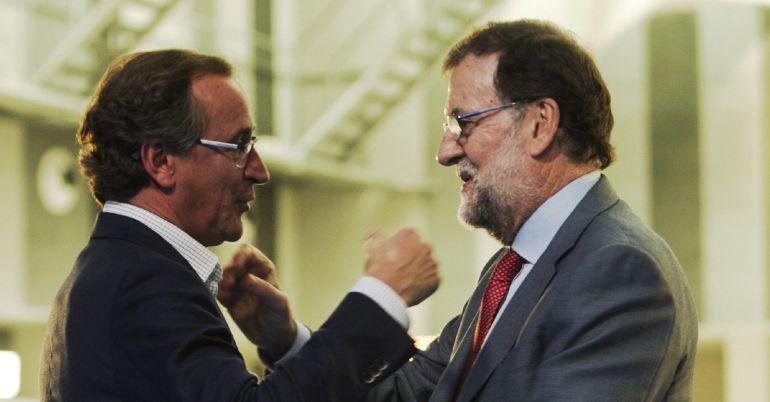"""Vamos a ganar por ti, Rajoy"" anima Alonso"