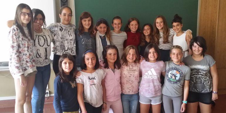 Alumnas de María eta José Ikastetxea
