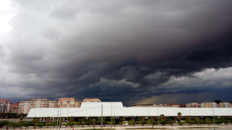 Imagen del cielo en la capital de La Plana