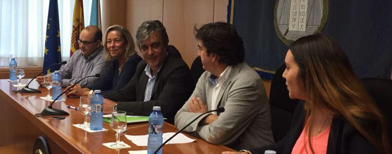Pedro Puy, PP, en campaña