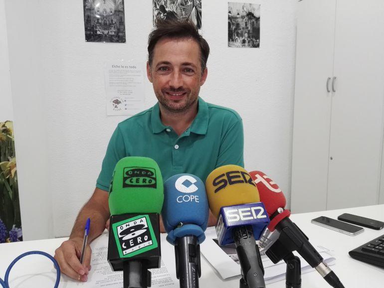 Fernando Durá, concejal de Ilicitanos por Elche