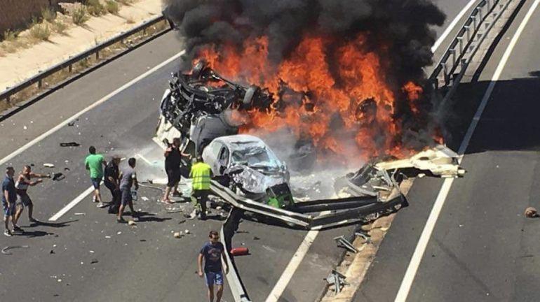 Imagen del accidente ocurrido en agosto