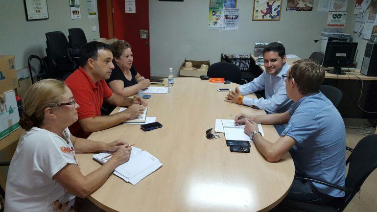 Reunión de Ciudadanos y la Federación de Vecinos