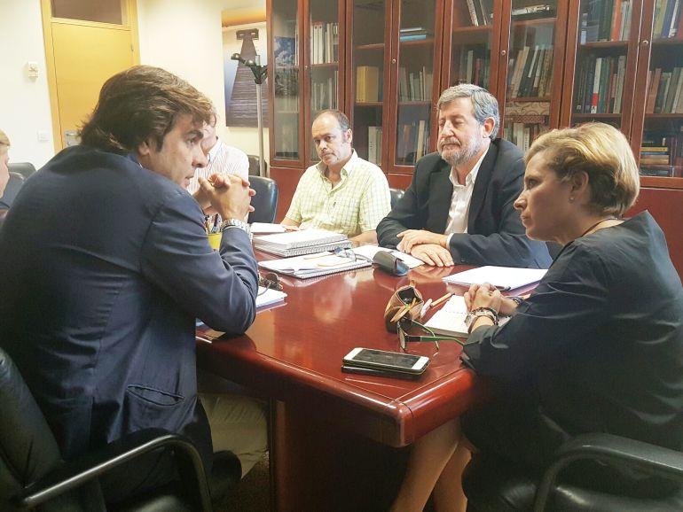 COEC presenta a la Consejería de Agricultura el Plan de Excelencia del Mar Menor
