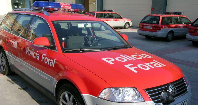 Vehículos Policía Foral