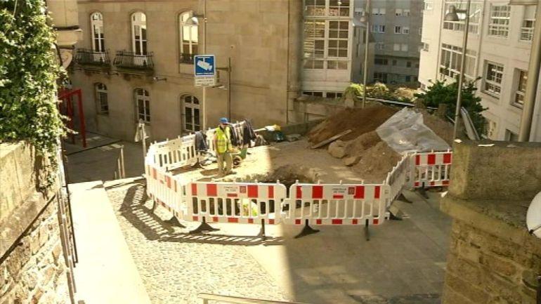 Las catas arqueológicas han terminado y se puede iniciar la segunda fase de las escaleras mecánicas