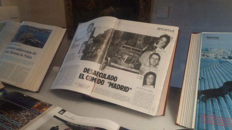 Objetos expuestos en el Palacio de Superunda (Ávila)