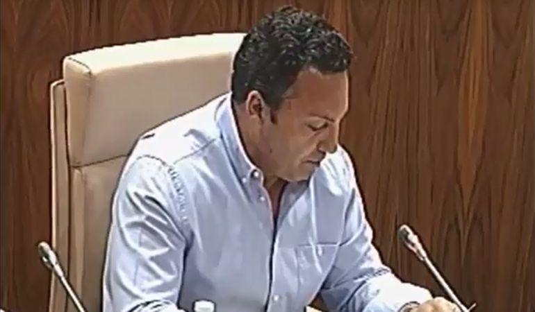 Egea llegó a la portavocía de C's tras la expulsión de su antecesor