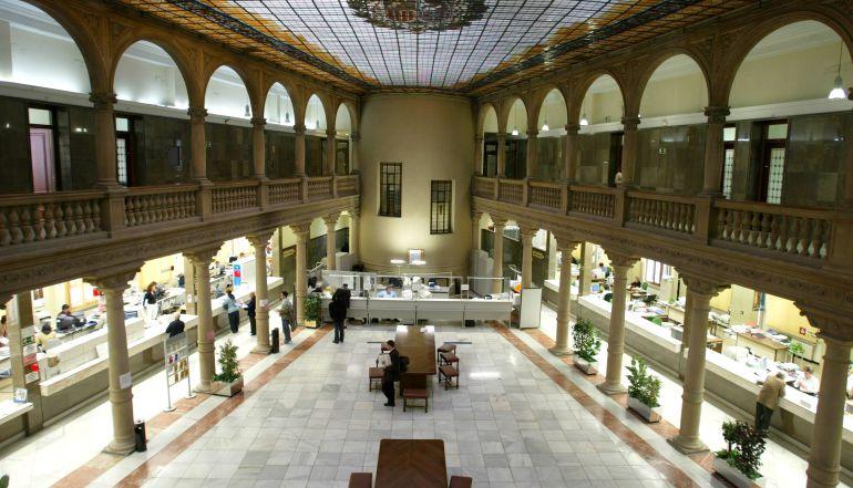 Edificio hacienda valladolid la junta trasladar oficinas a la antigua sede de hacienda en la - Oficina hacienda madrid ...