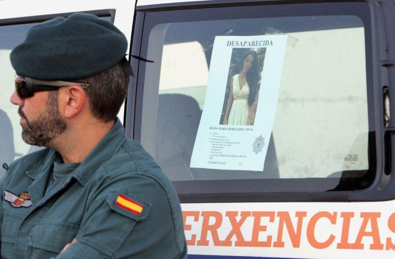 La Guardia Civil busca a Diana Quer