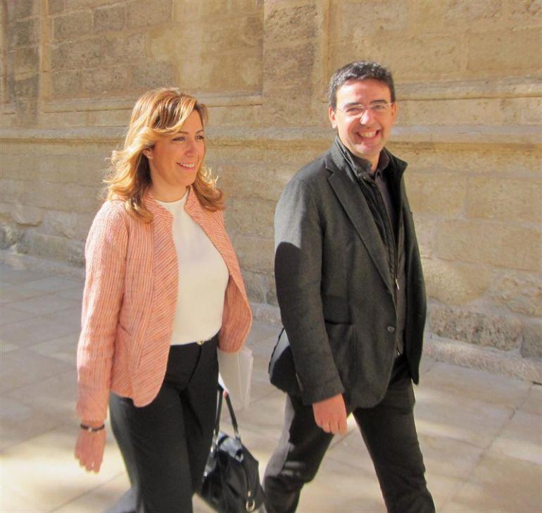 Mario Jiménez, hombre de confianza de Susana Díaz, entra en la gestora del Psoe tras la dimisión de Pedro Sánchez.
