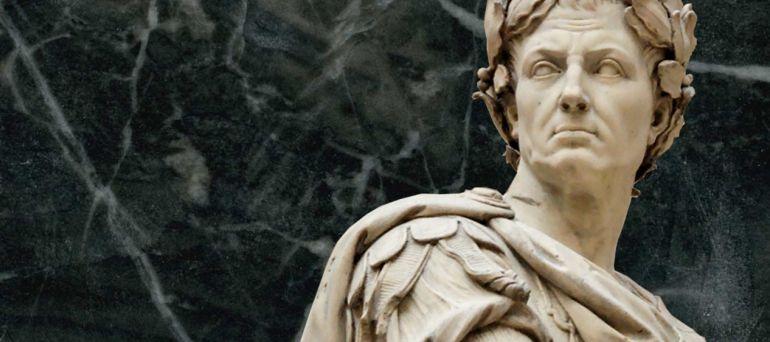 Estatua dedicada a Cayo Julio César