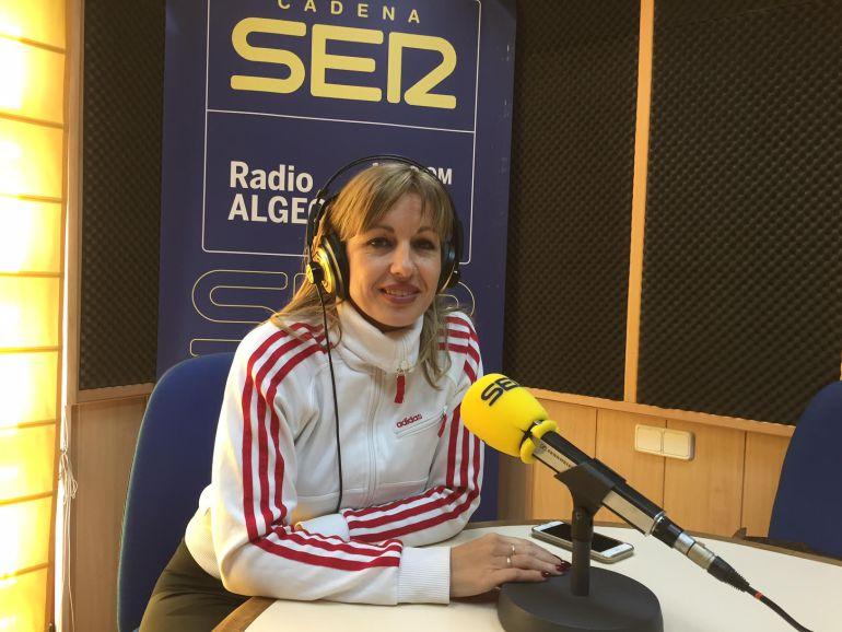 Raquel Saavedra, presidenta de la Asociación de Mujeres Estibadoras.
