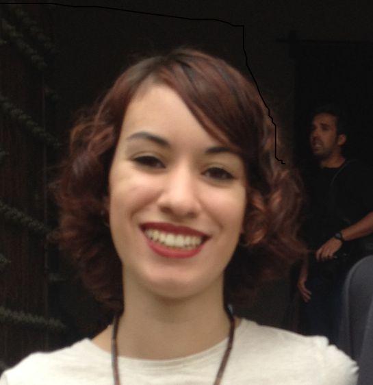 María, nueva residente en la Fundación Gala