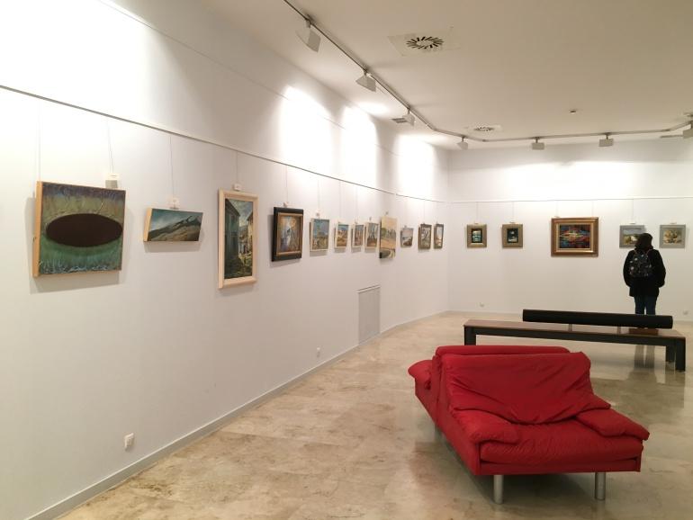 Esclerosis m ltiple palencia pintores palentinos a favor - Pintores en palencia ...