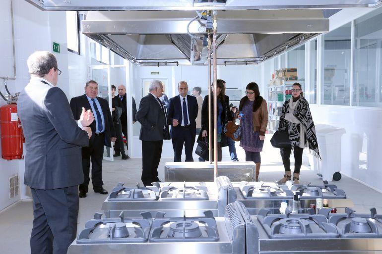 Visita del alcalde al Centro de Formación. Foto de archivo