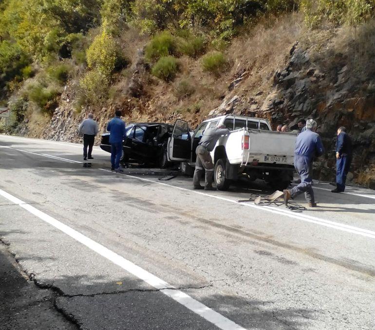El accidente se ha producido en Cuevas del Sil, en las inmediaciones de Villablino