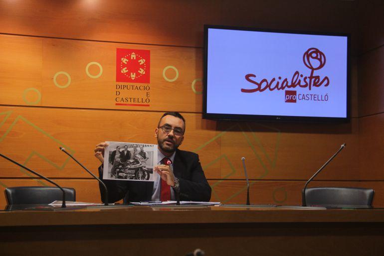 """DIPUTACIÓN CASTELLÓN: Benlloch acusa a Moliner de gobernar """"con estilo fabrista"""""""