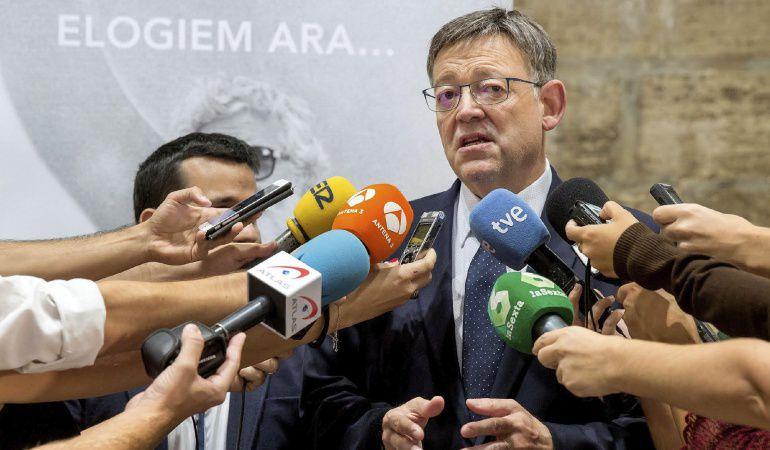 Ximo Puig AP7: Puig considera que Fomento debe asumir en solitario la bonificación en la A7