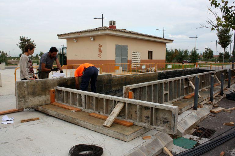 Almazora playa: Arrancan las obras de las estaciones de bombeo de la playa