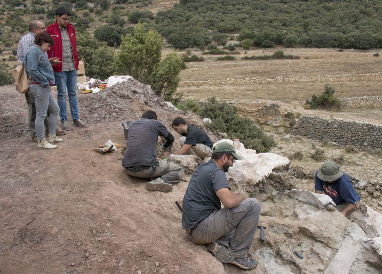 Morella dinosaurios: Descubren un nuevo yacimiento de dinosaurios en Morella
