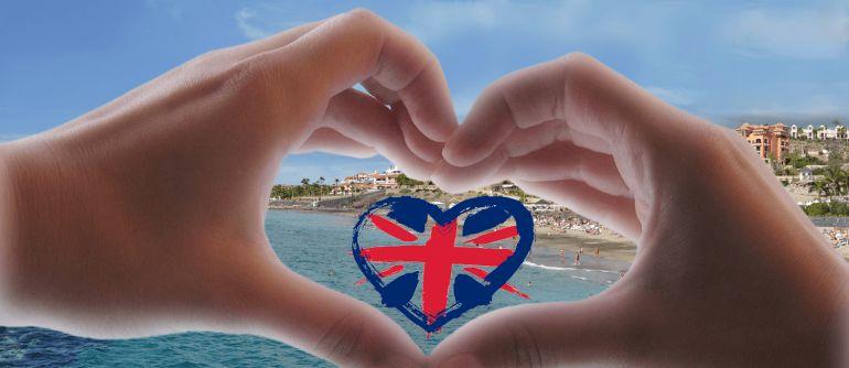 Logo de Big Warm Hug, una campaña lanzada por el Cabildo de Tenerife para anticiparse a los efectos del Brexit.