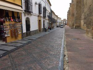 Calle Magistral González Francés, salida de la Carrera Oficial