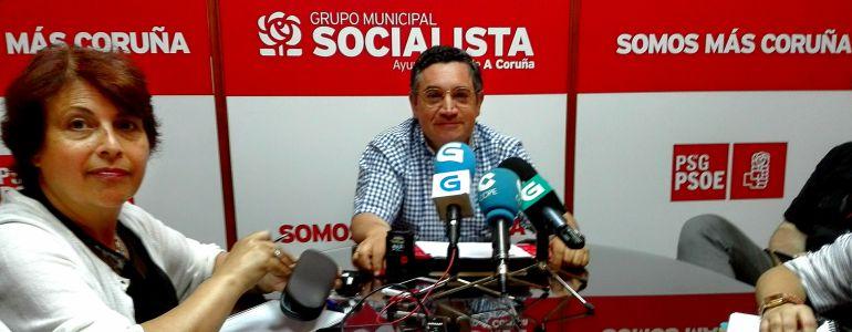 Jose Manuel Dapena, portavoz del PSOE en A Coruña