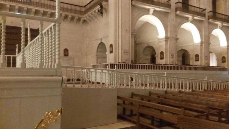 Interior de la Basílica de Santa María