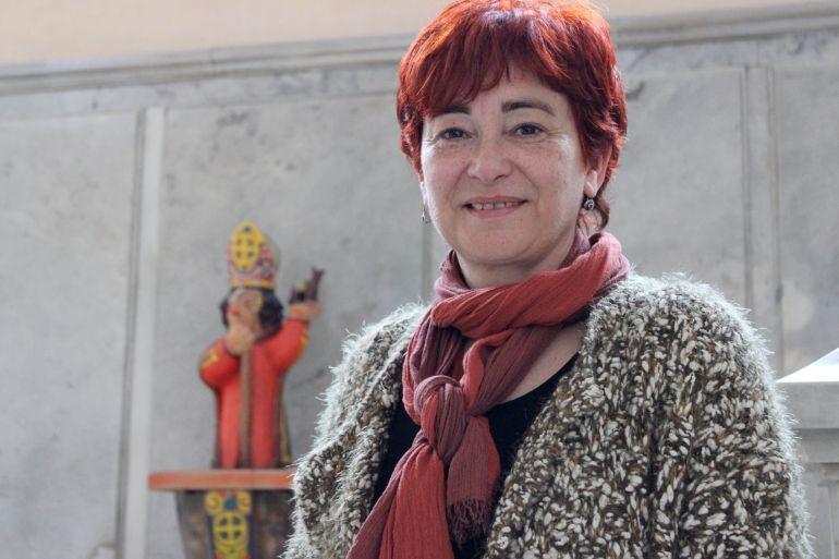 Maite Ferreiro, concejala del BNG en el Concello de Lugo
