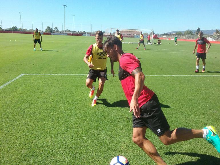 El defensa Antonio Raillo podrá jugar contra el Alcorcón