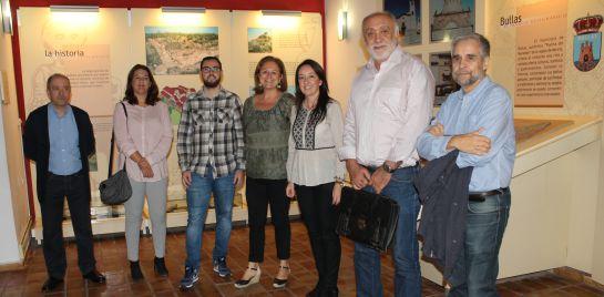 Visita al Museo del Vino de Bullas por parte de la directora general de Bienes Culturales, María Comas.