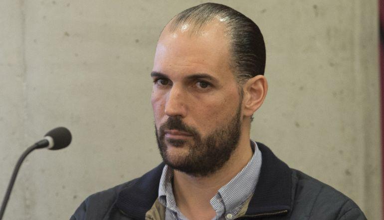 Juan Cuenca, el 'cerebro' del doble crimen de los Visser, durante el juicio que se desarrolla en la Ciudad de la Justicia