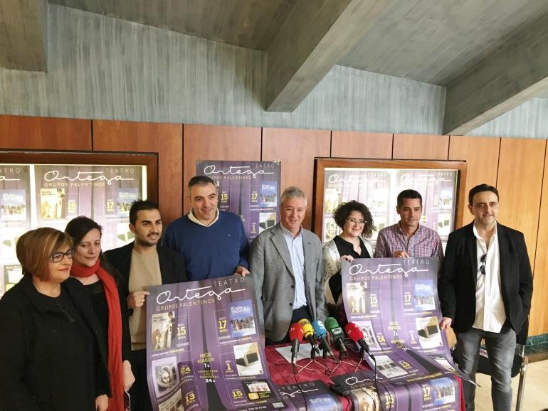 Presentación del Ciclo Grupos Palentinos en el Teatro Ortega