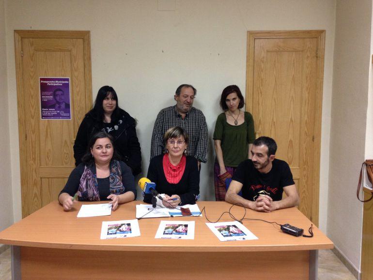 Integrantes de la Plataforma Palencia Ciudad Refugio