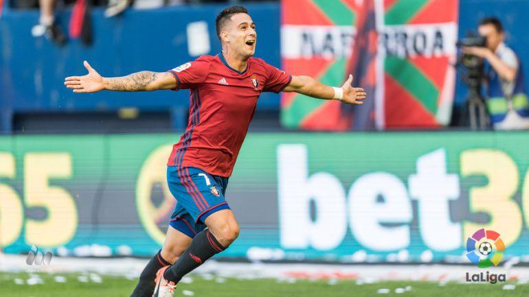 Los espectaculares números de Sergio León en Osasuna