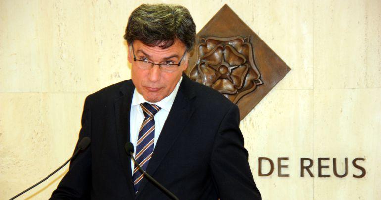 El regidor d'hisenda Joaquim Enrech.