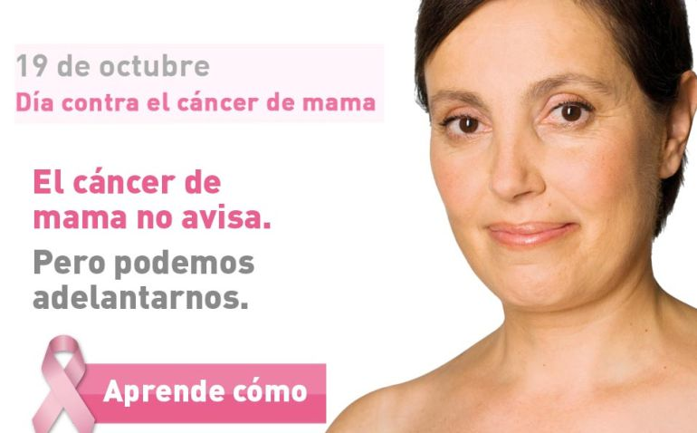 Cada año se diagnostican 26.500 nuevos casos de cáncer de mama