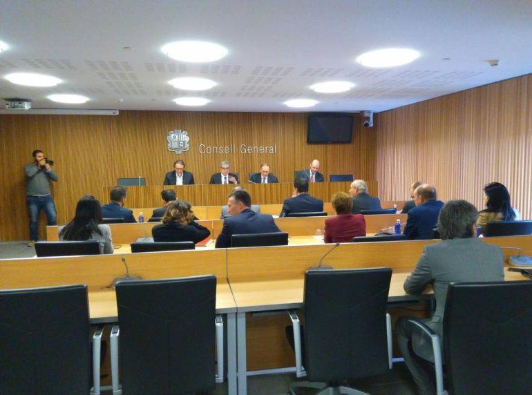 Higini Cierco compareix davant la comissió especial BPA.