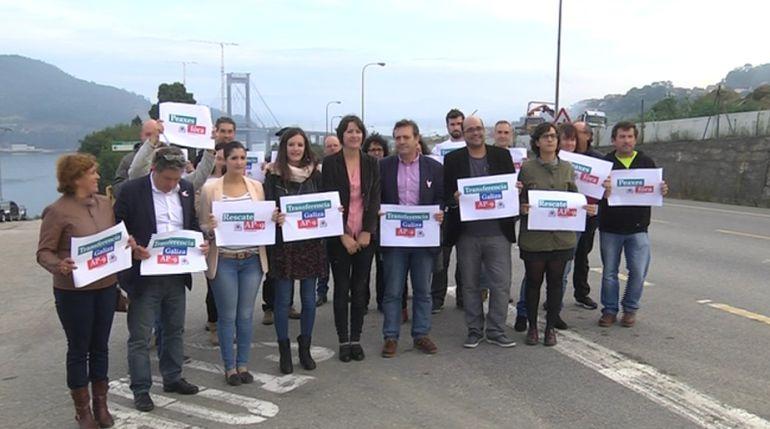 El BNG insiste en que se transfiera la AP-9 a Galicia