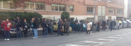 La expectación mediática ante la llegada del principal sospechoso del cuádruple crimen de Pioz (Guadalajara)