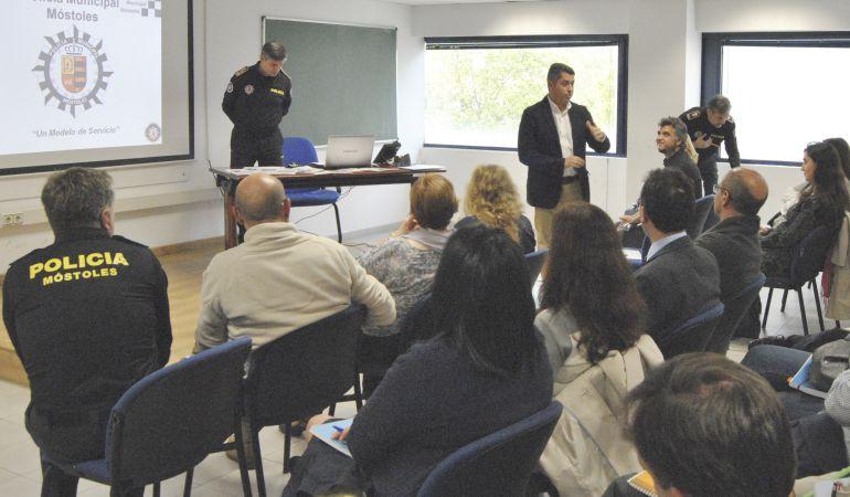 Presentación del Plan integral de seguridad en el entorno escolar de Móstoles
