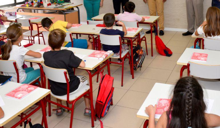 Más de la mitad de las aulas de Primaria están masificadas, según CCOO
