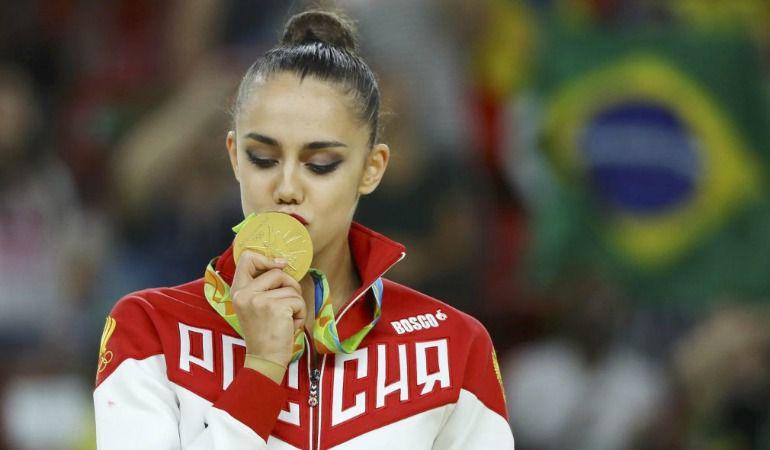 Margarita Mamun consiguió el oro en Rio de Janeiro y estará el sábado en Vitoria.