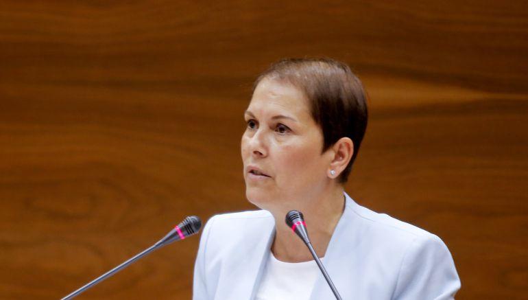 Uxue Barkos, presidenta de Navarra