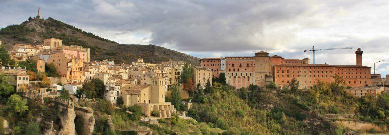 Vistas de Cuenca desde el camino de San Julián.