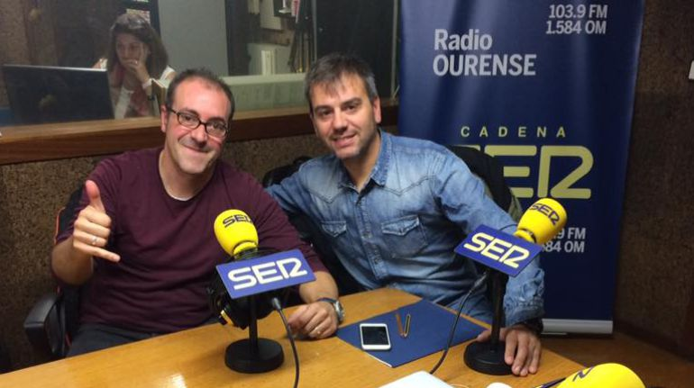 Héctor Lorenzo (izqda) y José Freiría (dcha)